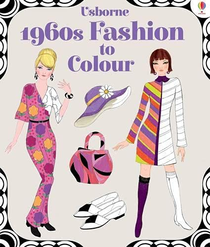 1960's Fashion to Colour (Softcover)