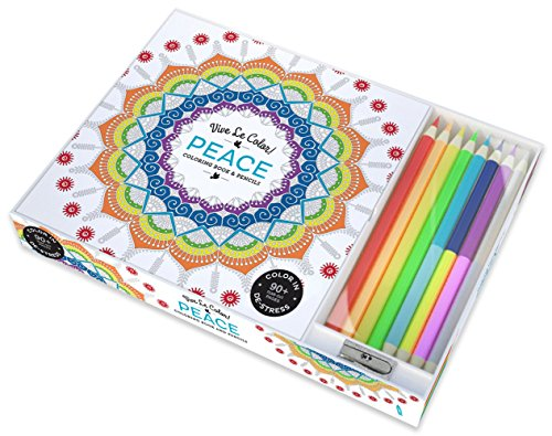 Peace  Coloring Book and Pencils (Vive Le Color!)