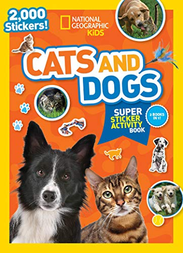 Cats and Dogs Super Sticker Activity Book
