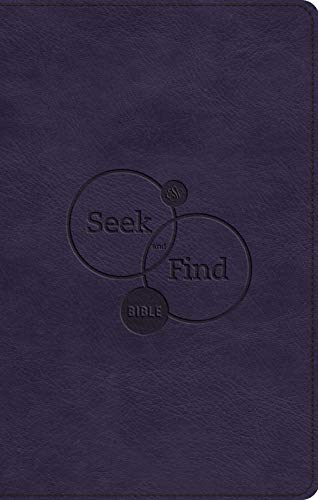 ESV Seek and Find Bible (TruTone, Purple)