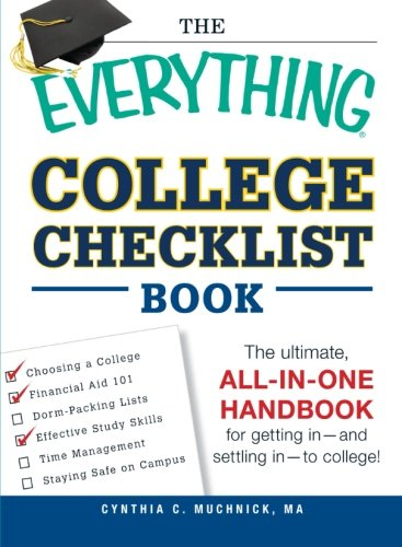 College Checklist Book (The Everything) (Paperback)