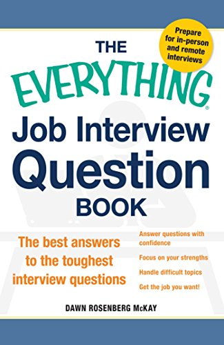 Job Interview Question Book (The Everything)