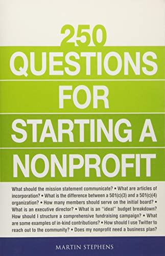 250 Questions for Starting a Nonprofit