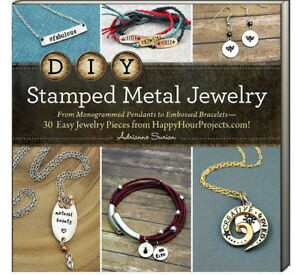DIY Stamped Metal Jewelry