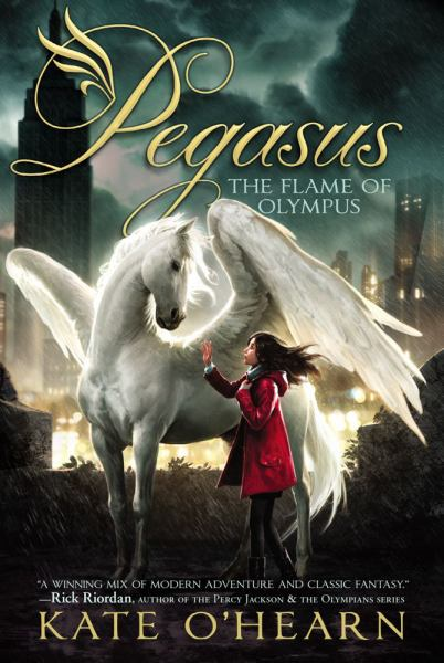 The Flame of Olympus  (Pegasus Bk. 1)