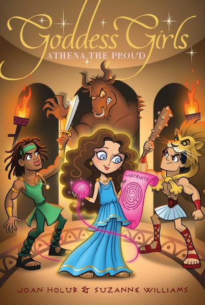 Athena the Proud (Goddess Girls, Bk. 13)