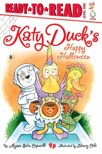 Katy Duck's Happy Halloween (Ready-to-Read, Level 1)