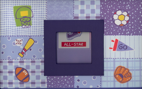 Little All-Star Scrapbook Memory Kit