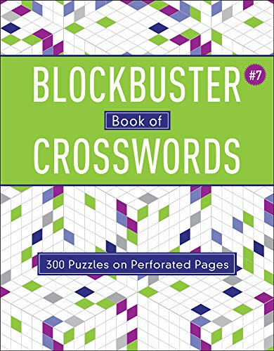 Blockbuster Book of Crosswords (Blockbuster Crosswords, Vol. 7) (Softcover)