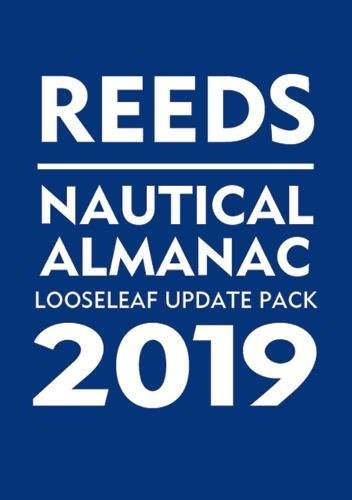 Reeds Nautical Almanac Looseleaf Update Pack 2019