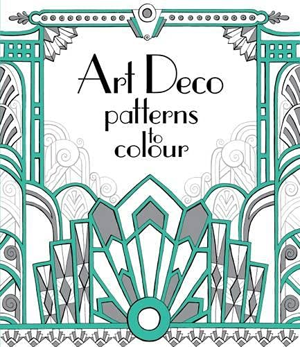 Art Deco Patterns to Colour (Softcover)