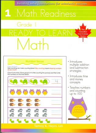 Grade 1 Math (Ready to Learn, Canadian Curriculum Series)