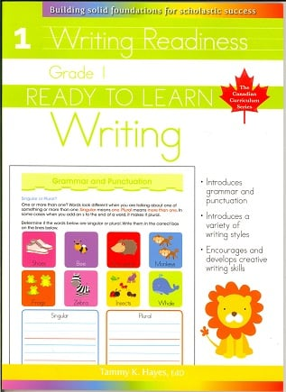 Grade 1 Writing (Ready to Learn, Canadian Curriculum Series)