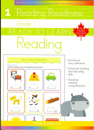 Grade 1 Reading (Ready to Learn, Canadian Curriculum Series)