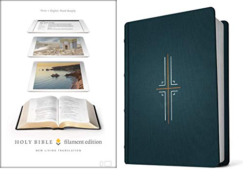 NLT Filament Edition Holy Bible (Midnight Blue Cloth)