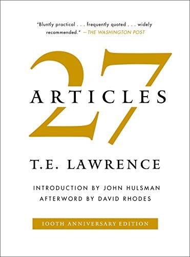 27 Articles (Hardcover)