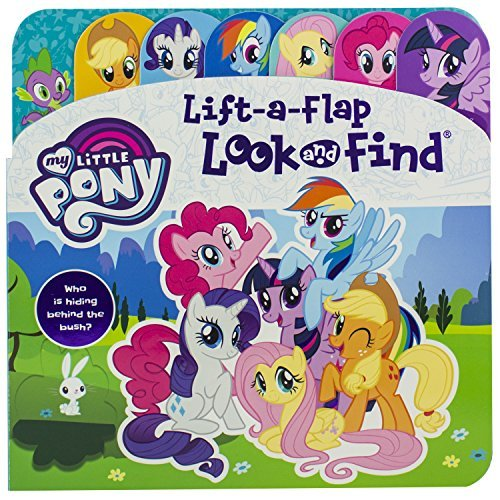My Little Pony Lift-a Flap Look and Find Board Book