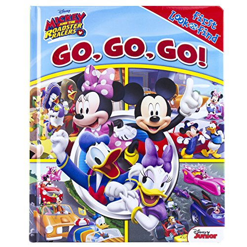 Go, Go, Go!: Mickey and the Roadster Racers (Little First Look and Find)