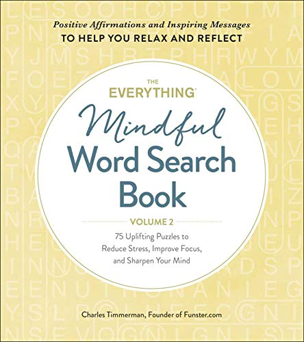 The Everything Mindful Word Search Book (Volume 2) (Softcover)