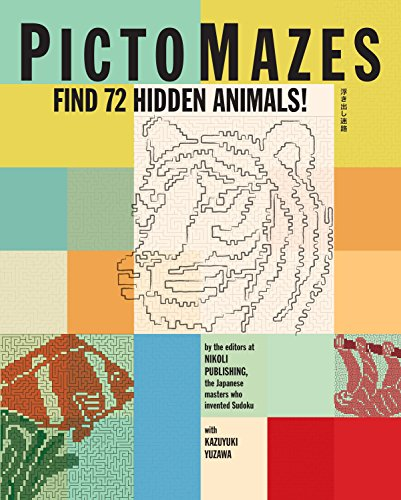 PictoMazes: Find 72 Hidden Animals!