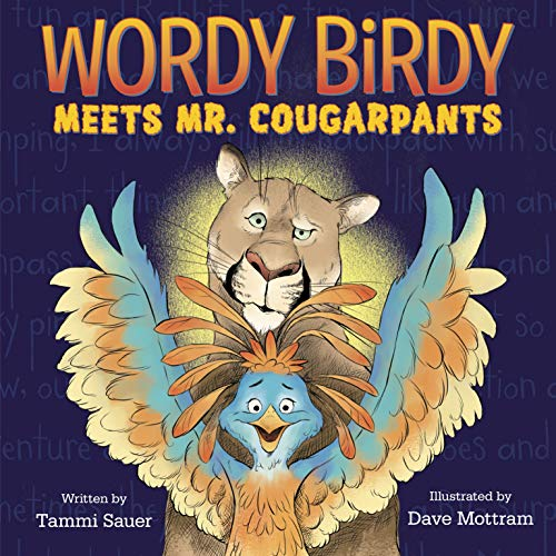 Wordy Birdy Meets Mr. Cougarpants