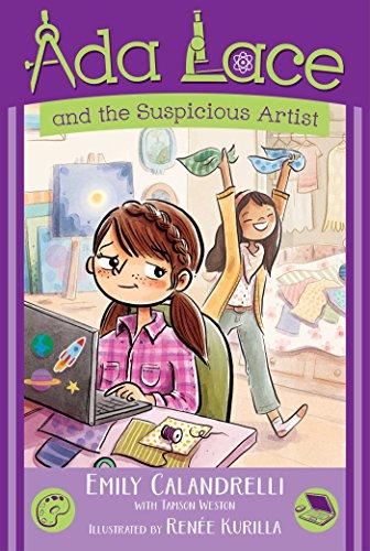 Ada Lace and the Suspicious Artist (Ada Lace Adventure, Bk. 5) (Hardcover)