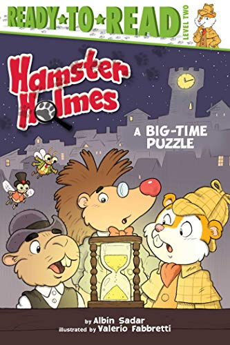 A Big-Time Puzzle (Hamster Holmes, Ready-to-Read! Level 2)