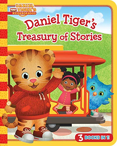 Daniel Tiger's Treasury of Stories (Daniel Tiger's Neighborhood, 3 Books In 1)