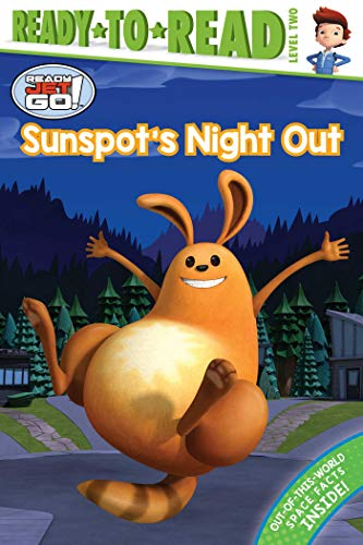 Sunspot's Night Out (Ready Jet Go! Ready-to-Read! Level 2)