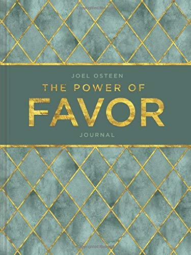 The Power of Favor Hardcover Journal