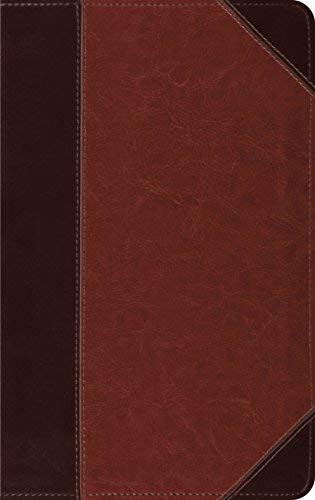 ESV Thinline Bible (Trutone, Brown/Cordovan, Portfolio)