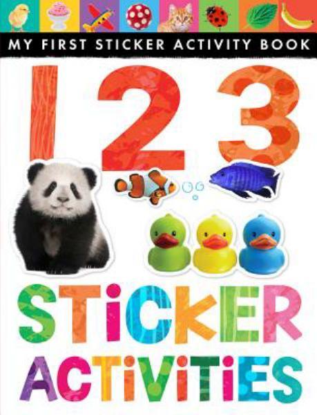 123 Sticker Activities (My First Sticker Activity Book) (Softcover)