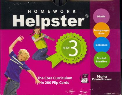 Homework Helpster (Grade 3)