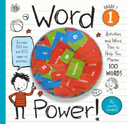 Word Power! Grade 1: Activities and Word Tiles to Help You Master 100 Words!
