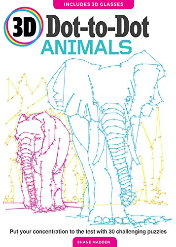 3D Dot-to-Dot Animals