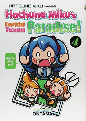 Hatsune Miku Presents: Hachune Miku's Everyday Vocaloid Paradise (Volume 4)