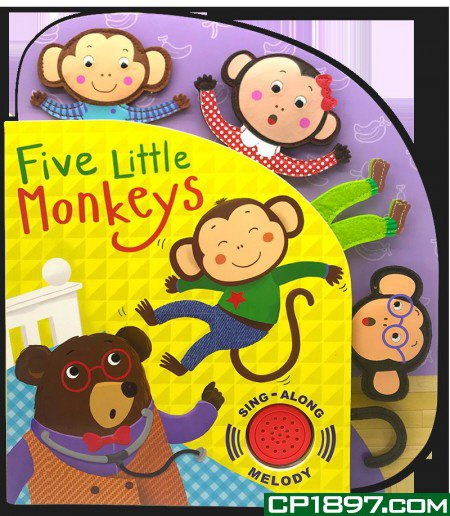 Five Little Monkeys Sing-Along Melody