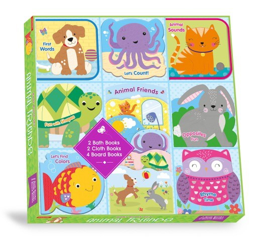 Animal Friends (Baby Book Set)