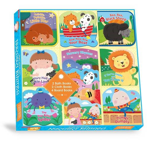 Nursery Rhymes Baby Book Set (8 Pack)