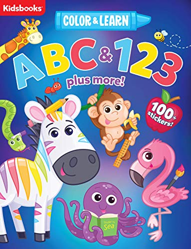 ABC & 123 (Color & Learn) (Paperback)