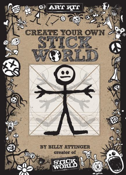 Create Your Own Stick World (Art Kit)