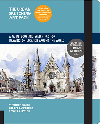 A Guide Book and Sketch Pad for Drawing on Location Around the World (The Urban Sketching Art Pack)