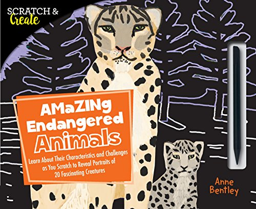 Amazing Endangered Animals (Scratch & Create)