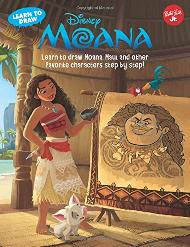Learn to Draw Disney's Moana