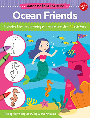 Ocean Friends (Watch Me Read and Draw)