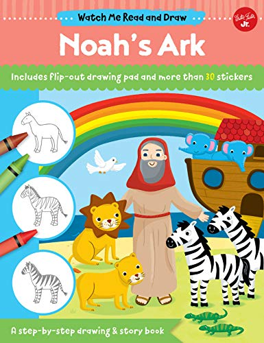 Noah's Ark (Watch Me Read and Draw)