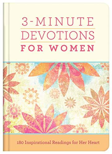 3-Minute Devotions for Women (Hardcover)