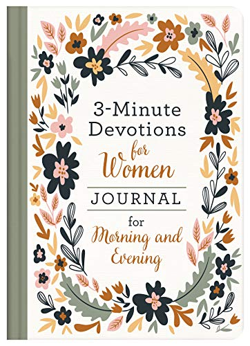 3-Minute Devotions for Women Journal for Morning and Evening (Hardcover)