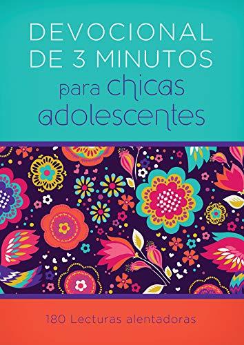 Devocionales de 3 Minutos Para Chicas Adolescentes: 180 Lecturas Alentadoras (Paperback)