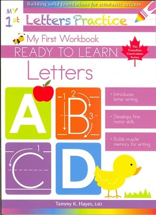My First Letters (Ready to Learn Canadian Curriculum Series)